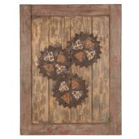 1213 | Wooden Cog Wall Décor