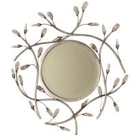 2118 | Round Jeweled Mirror
