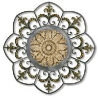 2421 | Classic Leaf & Fleur Design Wall Decor