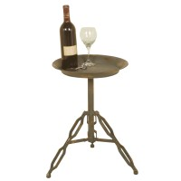 2442 | Industrial Metal Side Table