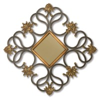 2445 | Diamond Shaped Wall Mirror