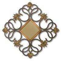 2445 | Diamond Shaped Wall Mirror