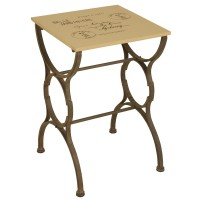 2634 | Postcard End Table