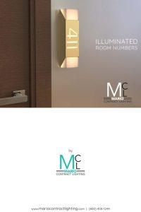 Illuminated Room Numbers